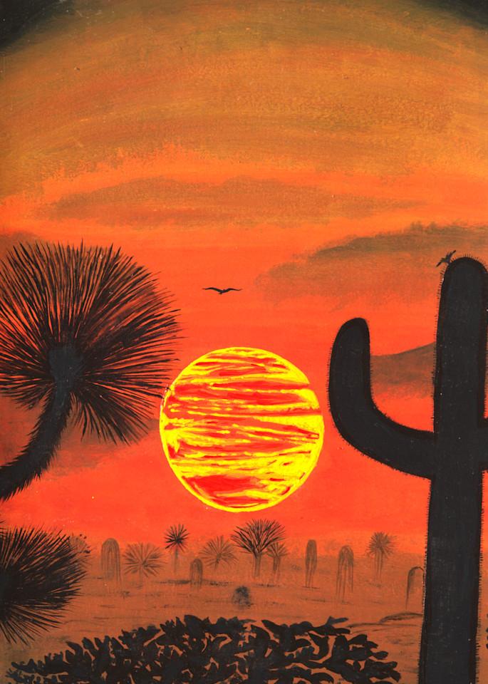 Sonoran Sunset Photography Art | ArtbyAEllis