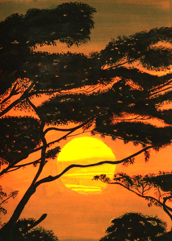 Sunset In Malaysia Photography Art | ArtbyAEllis
