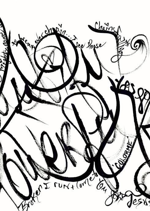 Break Every Chain Art | COLORME Art Spa
