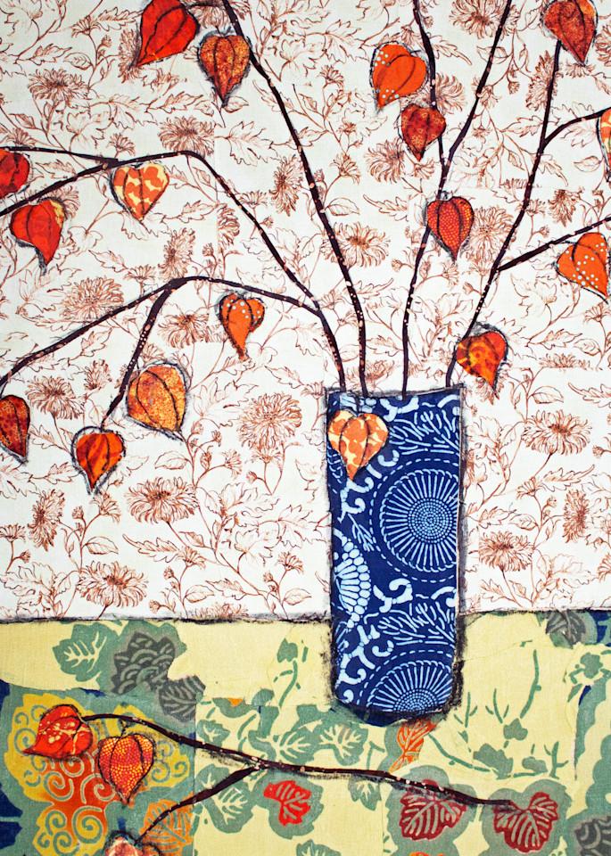 Chinese Lanterns Print by Sharon Tesser