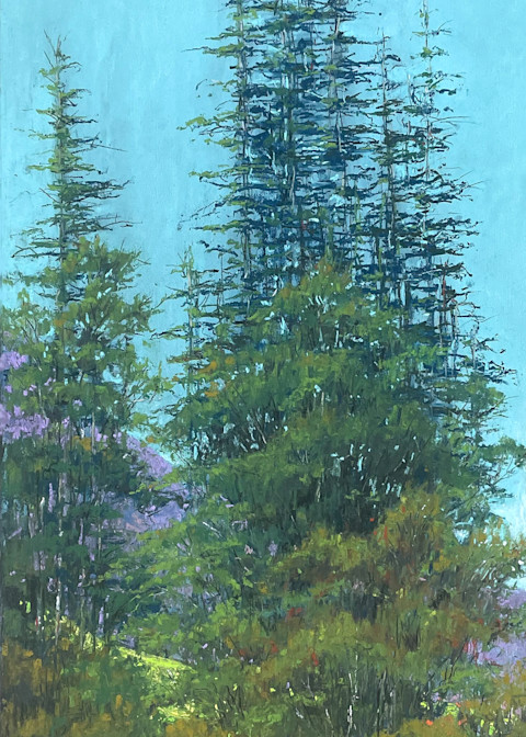 Valley Clearing Art | Kurt A. Weiser Fine Art