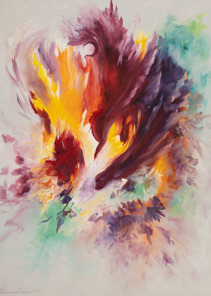 Child's Play   #36 Of 100   The Journey Of 100 Paintings Series Art | Valerieann Giovanni - Fine Art