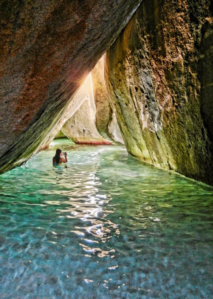The Grotto At Devil's Bay Art   Light Pixie Studio