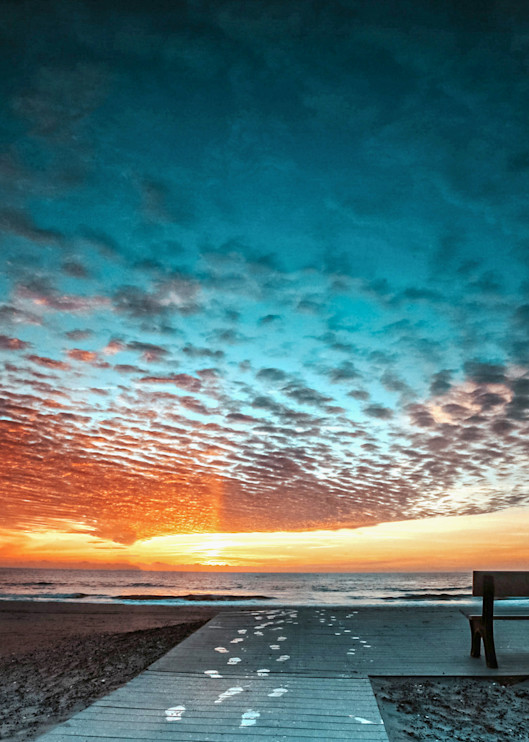 Assateague Sunrise Photography Art | Silver Sun Photography