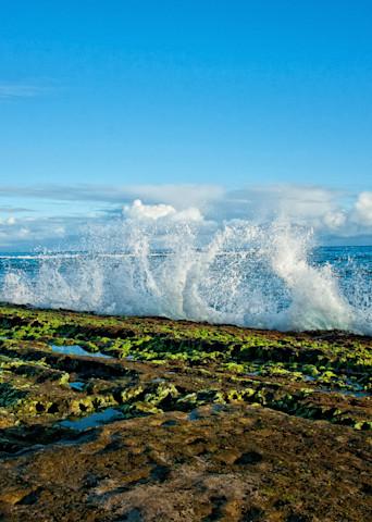 Ho'okipa Low Tide Photography Art   Douglas Hoffman Photography