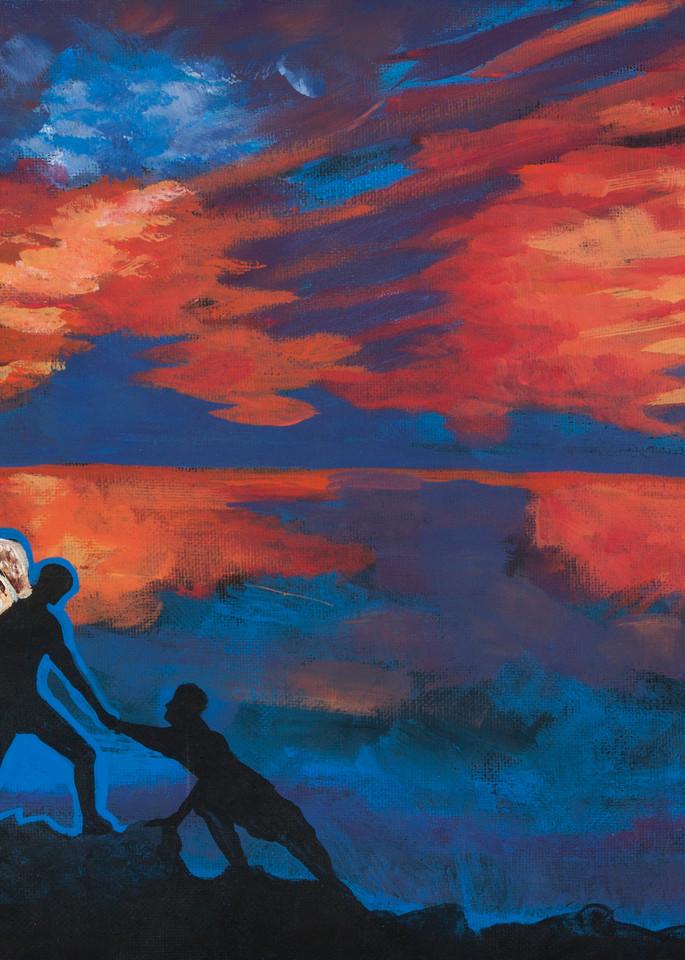 Jesus Was A Cross Maker  Sweet Silver Angels Art | Sarah E. McCord- Metaphysical Portraitist