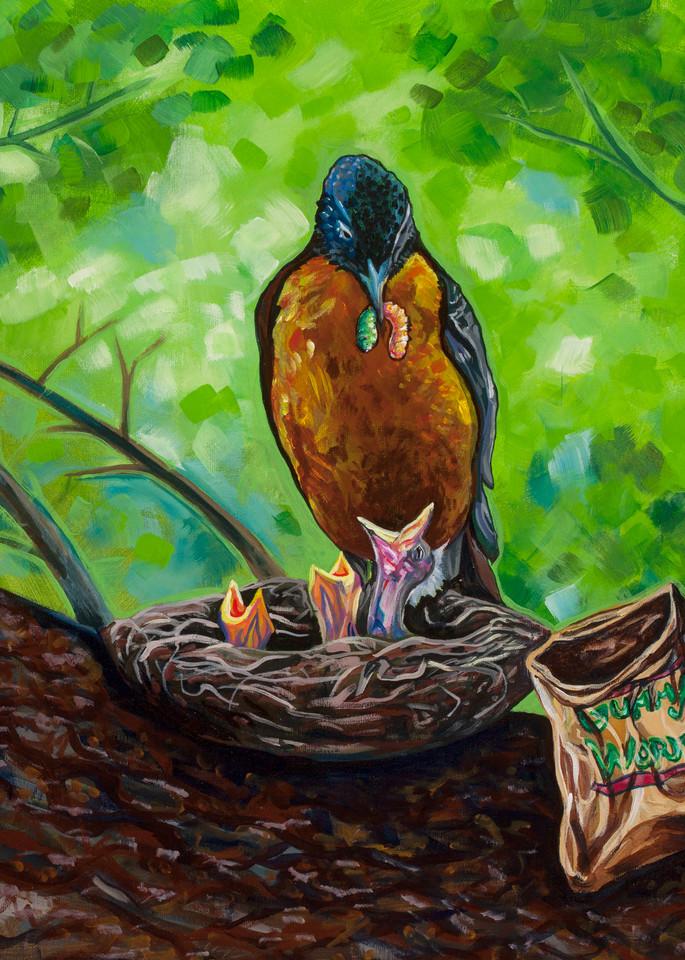 Breakfast Art | Sarah E. McCord- Metaphysical Portraitist