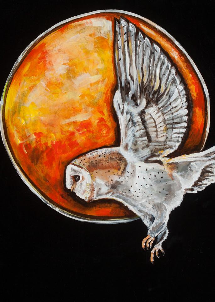 Owl Moon Art | Sarah E. McCord- Metaphysical Portraitist