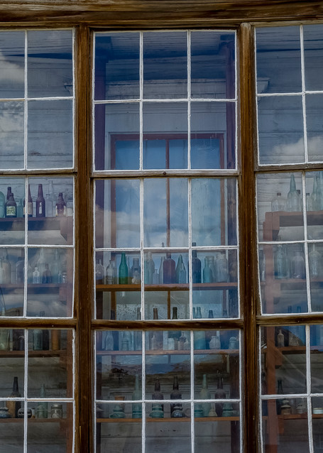 Bodie Store With Bottles  Photography Art | Great Wildlife Photos, LLC