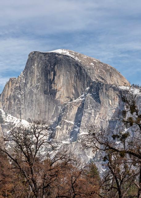 Yosemite Half Dome Close Up Art   Michael Blanchard Inspirational Photography - Crossroads Gallery