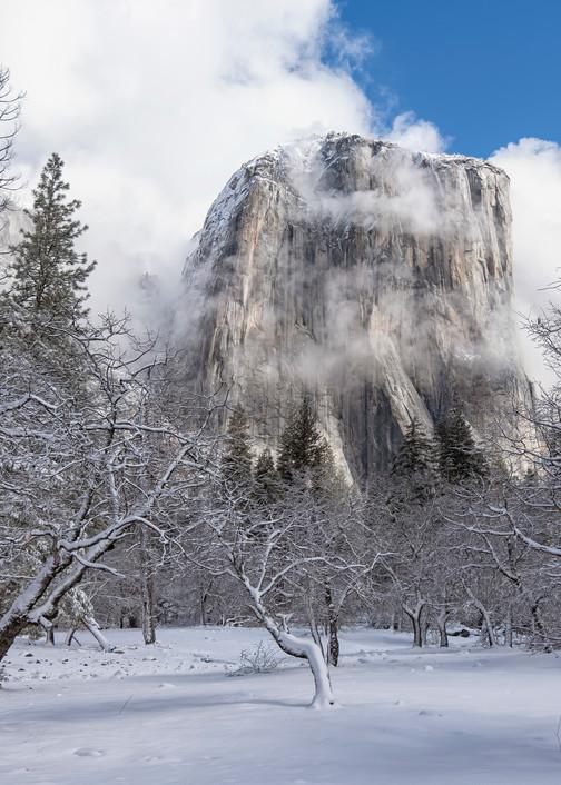 Yosemite Winter El Capitan Art | Michael Blanchard Inspirational Photography - Crossroads Gallery