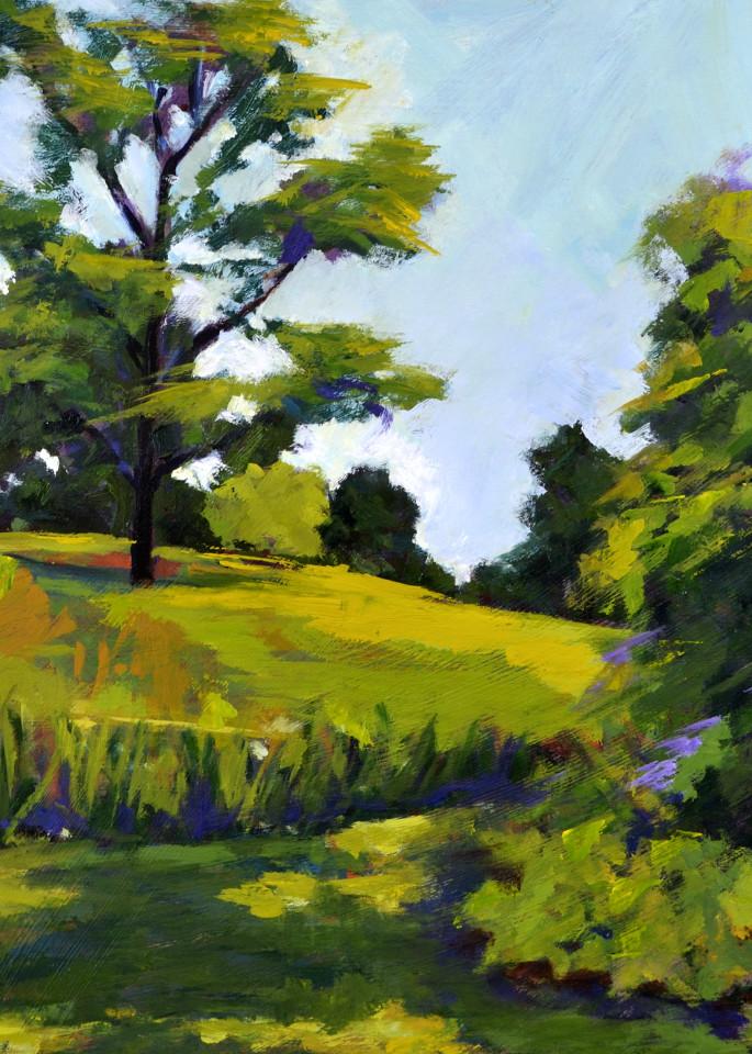 Landscape At Winterthur Print Art | Jenn Hallgren Artist