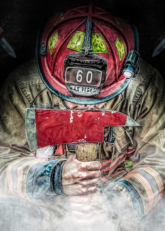 Firefighter 60 Art | DanSun Photo Art