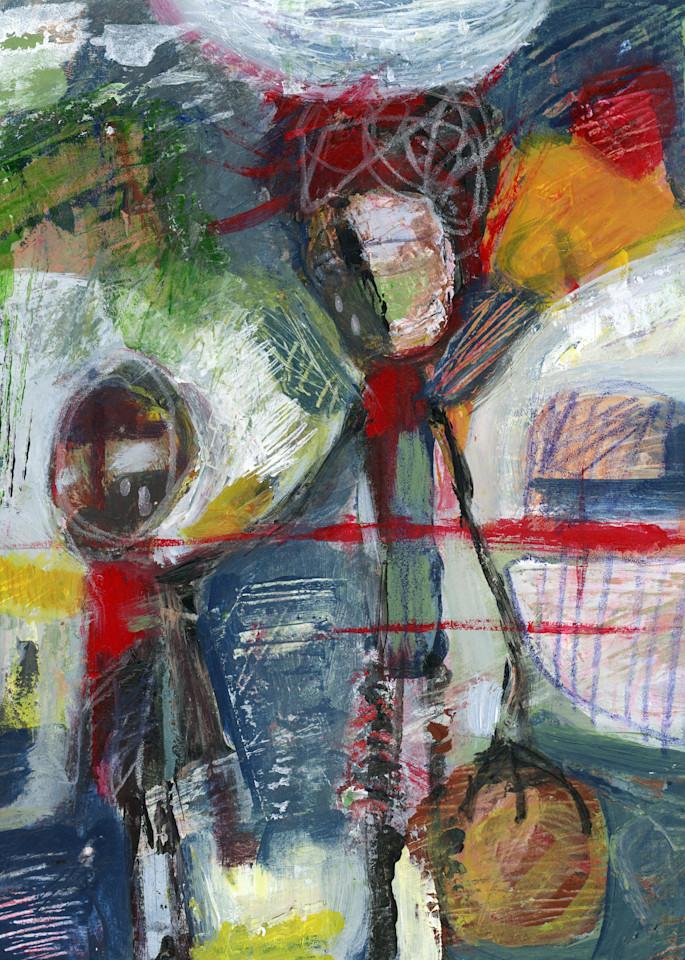 Marsha Gray Carrington Figurative Abstract Painting