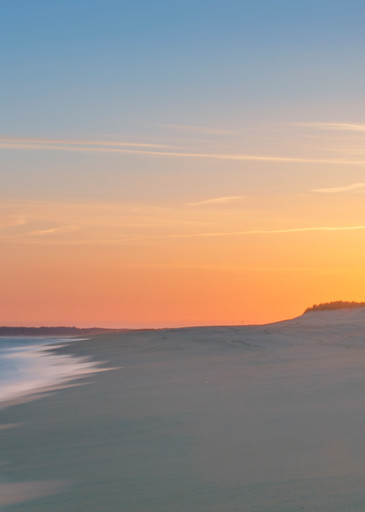Long Point Soft Sunset Art | Michael Blanchard Inspirational Photography - Crossroads Gallery