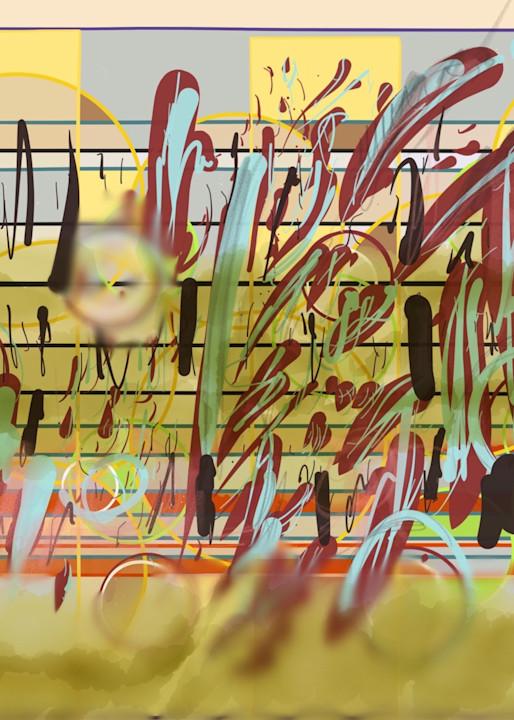 Messy Score Art   ART By George!