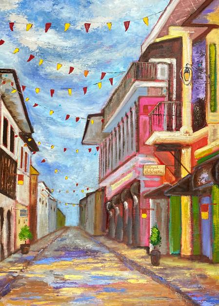 Fiesta Sa Barrio (Print) Art   Marissa Sweet