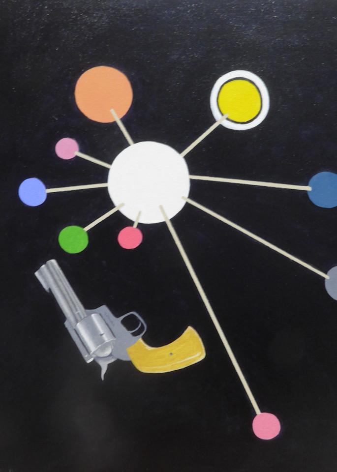 Model Of The Solar System With 44 Magnum Art | David R. Prentice