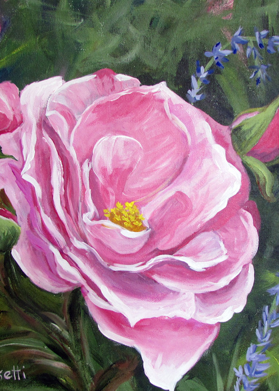 Pretty In Pink Art   Linda Sacketti