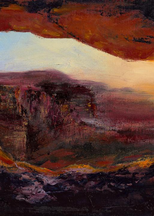 Sunset At Arches Park Art | Debra Bruner Studio