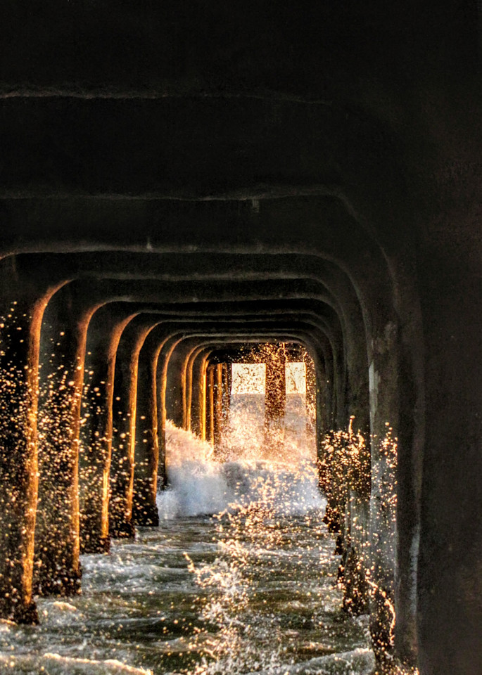 Manhattan Beach Pier, Number Three Photography Art | Photoissimo - Fine Art Photography