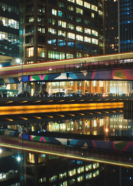 Calm As A Canary Wharf Art | Martin Geddes Photography
