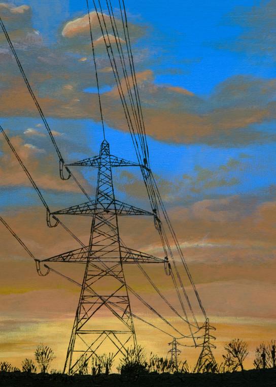 Watford Pylons Art | Emma Frost