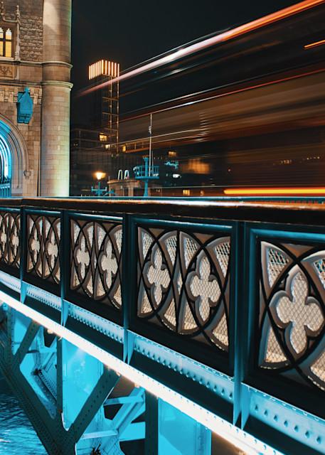 Trail Over Tower Bridge Art | Martin Geddes Photography