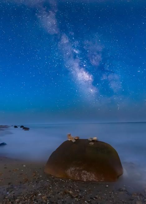 Moshup Beach Milky Way Art | Michael Blanchard Inspirational Photography - Crossroads Gallery