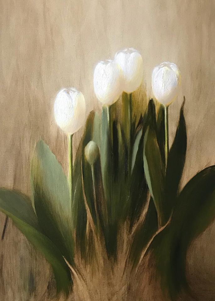 Tulips In Spring Art   Cristina Goia