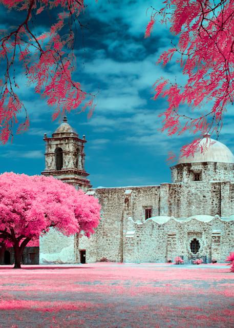 Mission San José Art Print