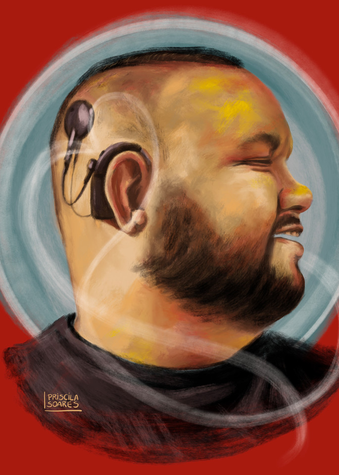 Some Deaf Guy Art | Priscila Soares - MyLuckyEars
