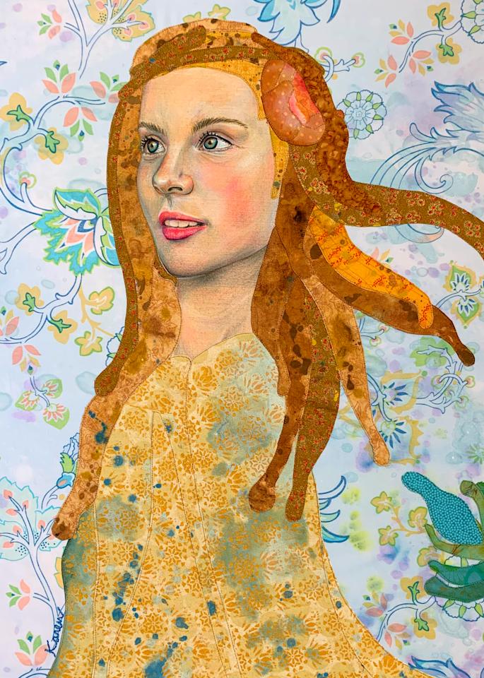 Golden Goddess Art | Karen Payton Art