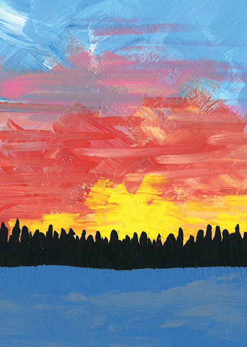 A Painted Sky Art | Laura Coffee