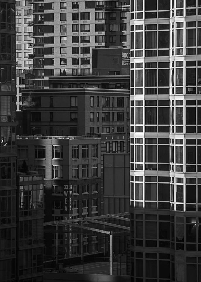 Midtown Sunset Photography Art | Silver Sun Photography