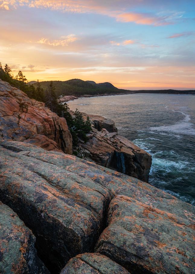 Otter Cliffs Sunset