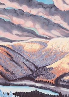 'Sugarbush' Vermont Ski Art for Sale