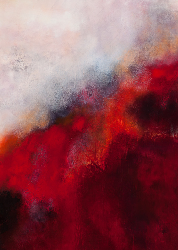 Red And Black 01 Art | Kristina Duewell Art