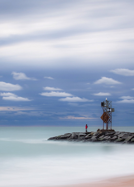 Inlet Fisherman Photography Art | Silver Sun Photography