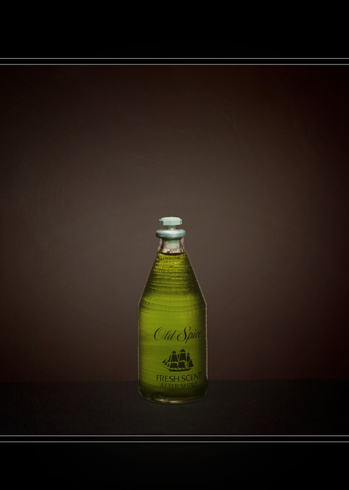 A Fine Art Photograph of an Old Spice by Michael Pucciarelli