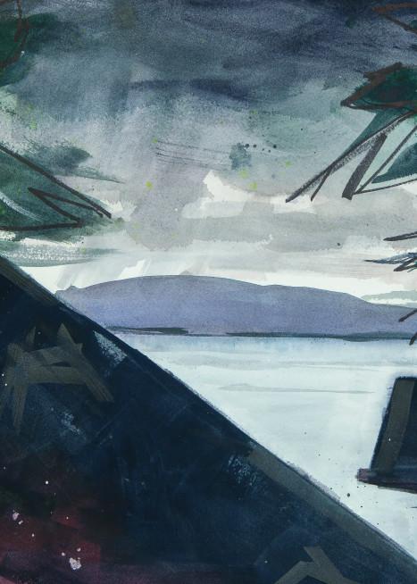 Tahoe  Storm Art | Elaine Schaefer Hudson Art