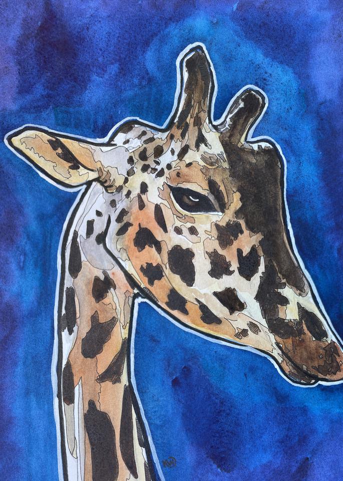 Giraffe Art | Water+Ink Studios
