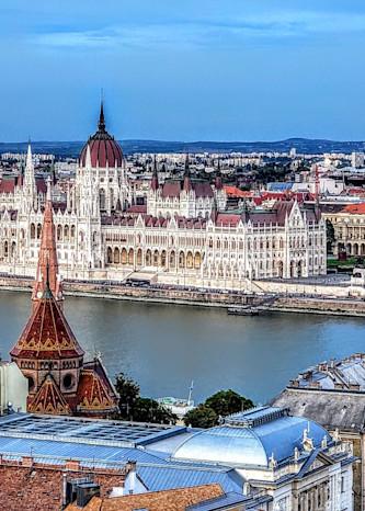 Two Sides Of Budapest Photography Art | Photoissimo - Fine Art Photography