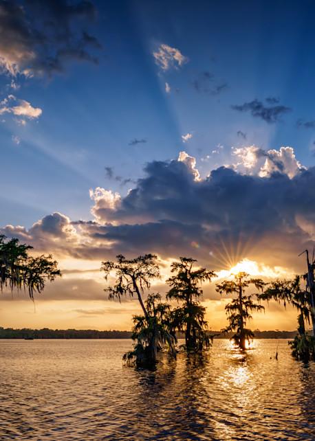 Sunset on Lake Martin   Shop Photography by Rick Berk