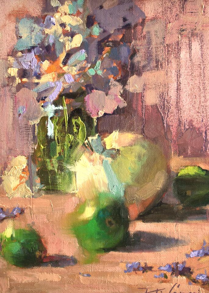 Marie S Palette 11x14 Plein Air Oil 2021 Art | robincaspari