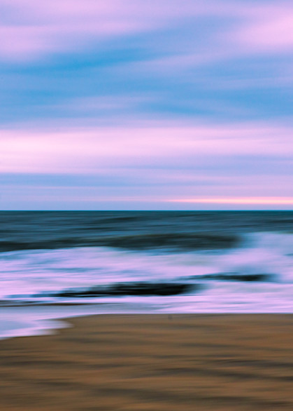 Sand, Ocean, and Sky Abstract