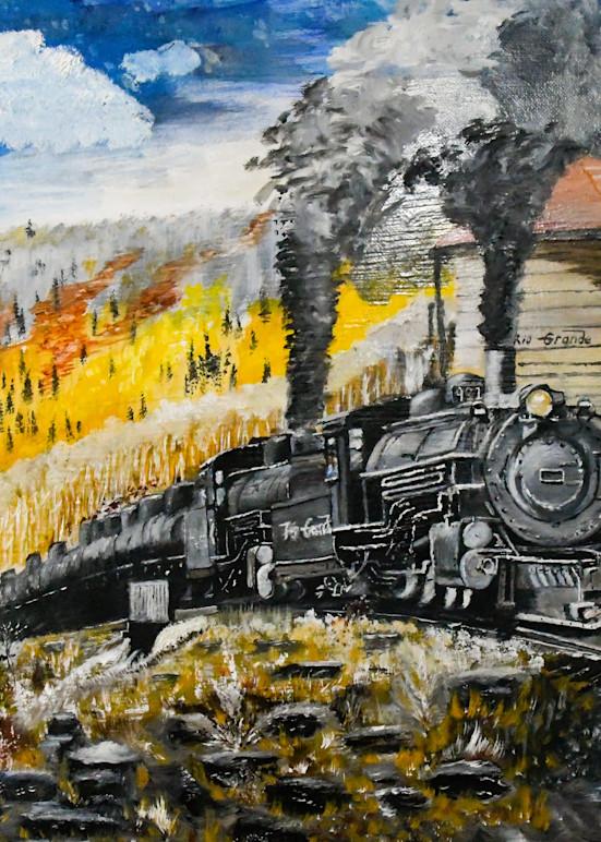 Chama Train Art | Drivdahl Creations
