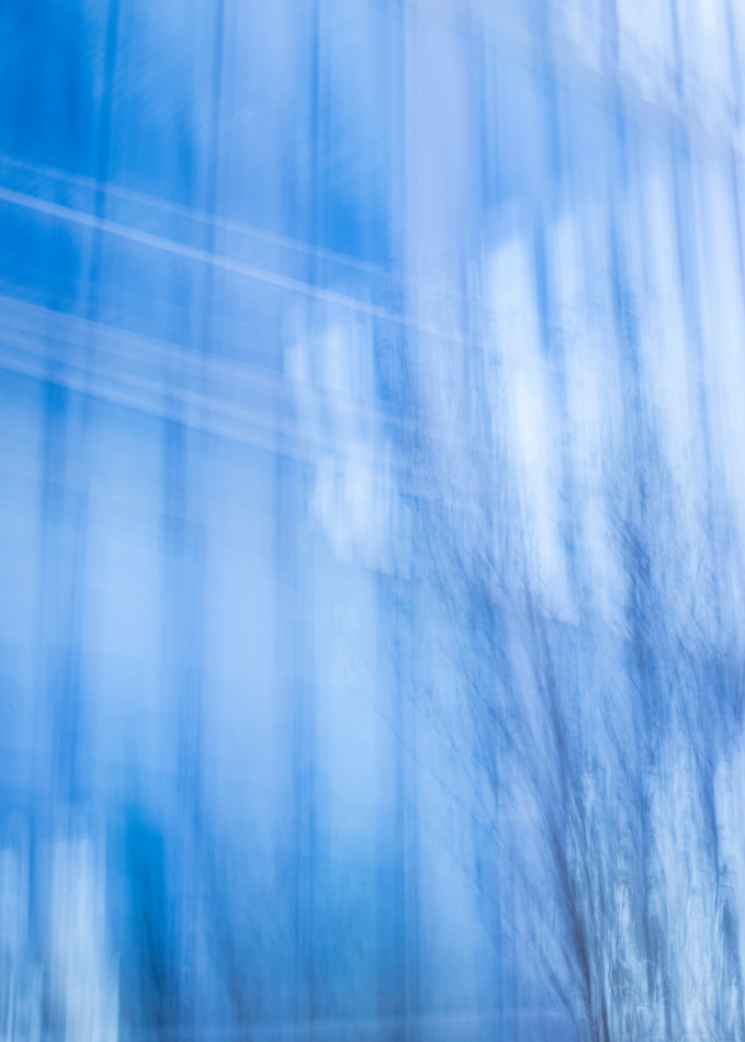 Glass Building Blue Photography Art | TERESA BERG PHOTOGRAPHY