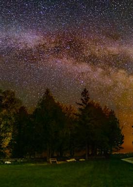 Cana Island and the Milky Way