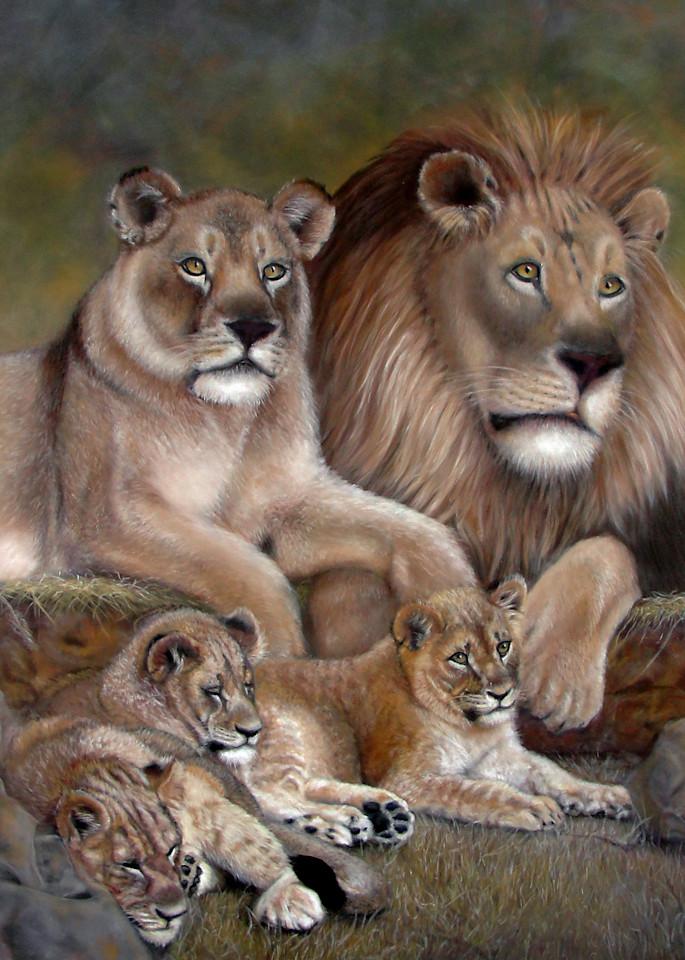 Lion's pride A Royal Family by Nancy Conant